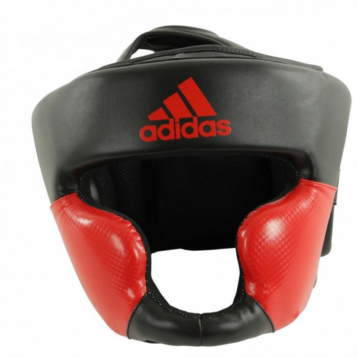 Боксерский шлем Adidas Response Black/Red р. XS